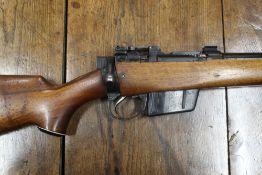 Parker Hale Lee Enfield T4 heavy barrelled bolt action rifle, cal 7.