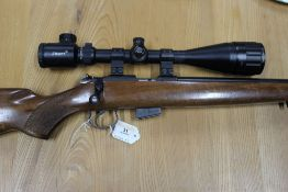 A CZ 452 American Cal 17HMR bolt action rifle,