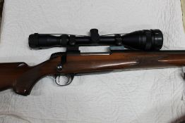 BSA cal 22-250 bolt action rifle,
