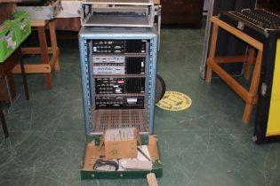 Three Tascam DA-88 digital multi track recorders and and Tascam DA-38 digital multi track recorder,