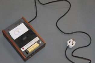 A vintage teak finish cased Prinz Sound STD 200 stereo cassette deck CONDITION REPORT: