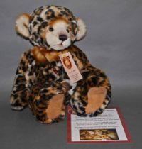 "A soft plush limited edition ""Surabhi"", Charlie Bear, No."