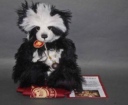 "A long and soft plush ""Xena"" Charlie Bear, CB114790,"