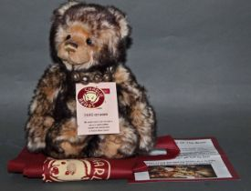 """A soft plush and limited edition """"Wurve You"""" Charlie Bear, No 680 OF 6000,"""