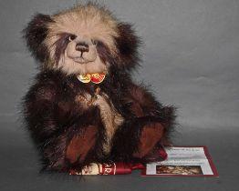 "A long and soft plush ""Abigail"" Charlie Bear, CB614840,"
