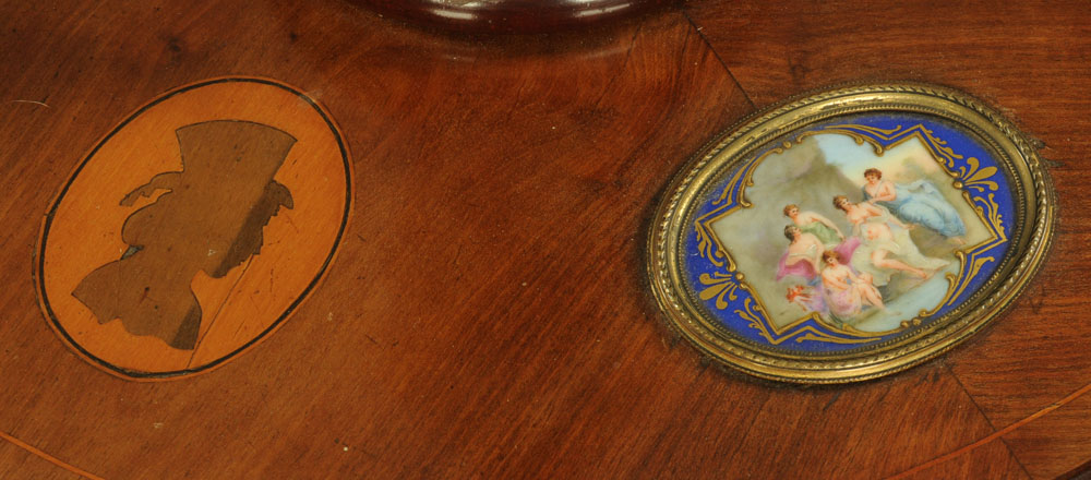 An early 20th century mahogany lamp standard, - Image 5 of 13