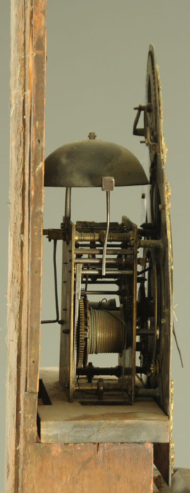 A George III mahogany longcase clock, with eight day striking movement by Sam Farrer Pontefract, - Image 4 of 4