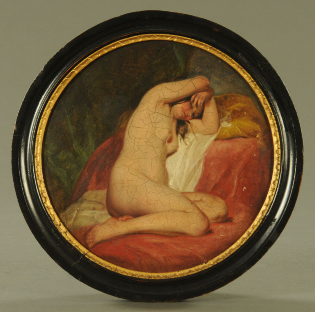 Attributed to Willis Maddox (1813-1853), oil painting, - Image 2 of 8