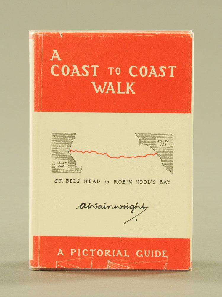 "Alfred Wainwright ""A Coast to Coast Walk"", St Bees Head to Robin Hoods Bay, first edition 1973."