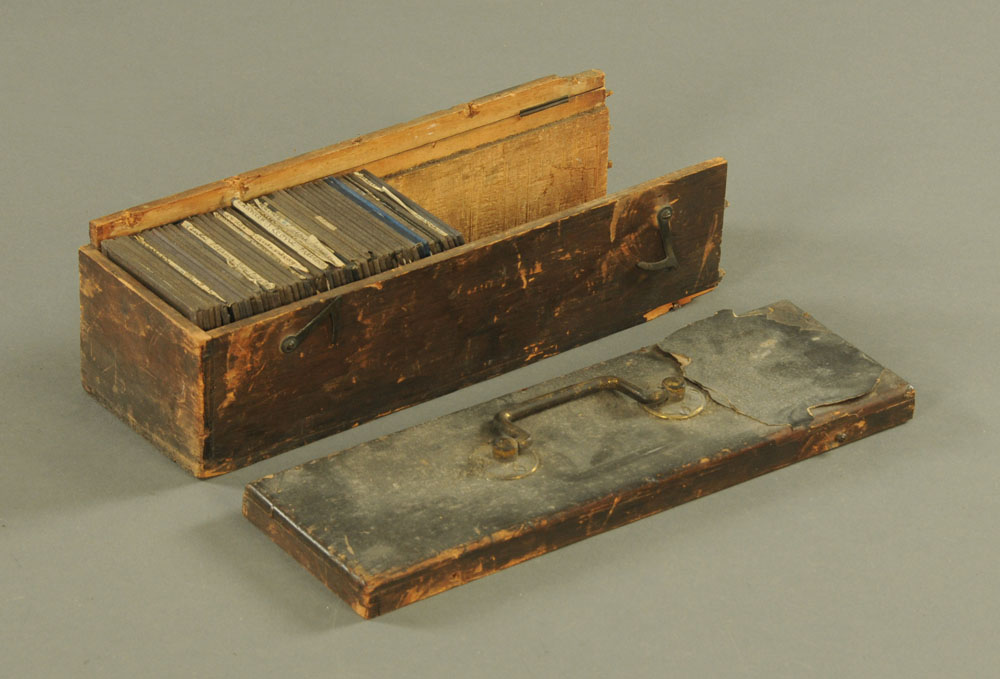 A case of forty seven late Victorian/early 20th century magic lantern slides, - Image 2 of 2