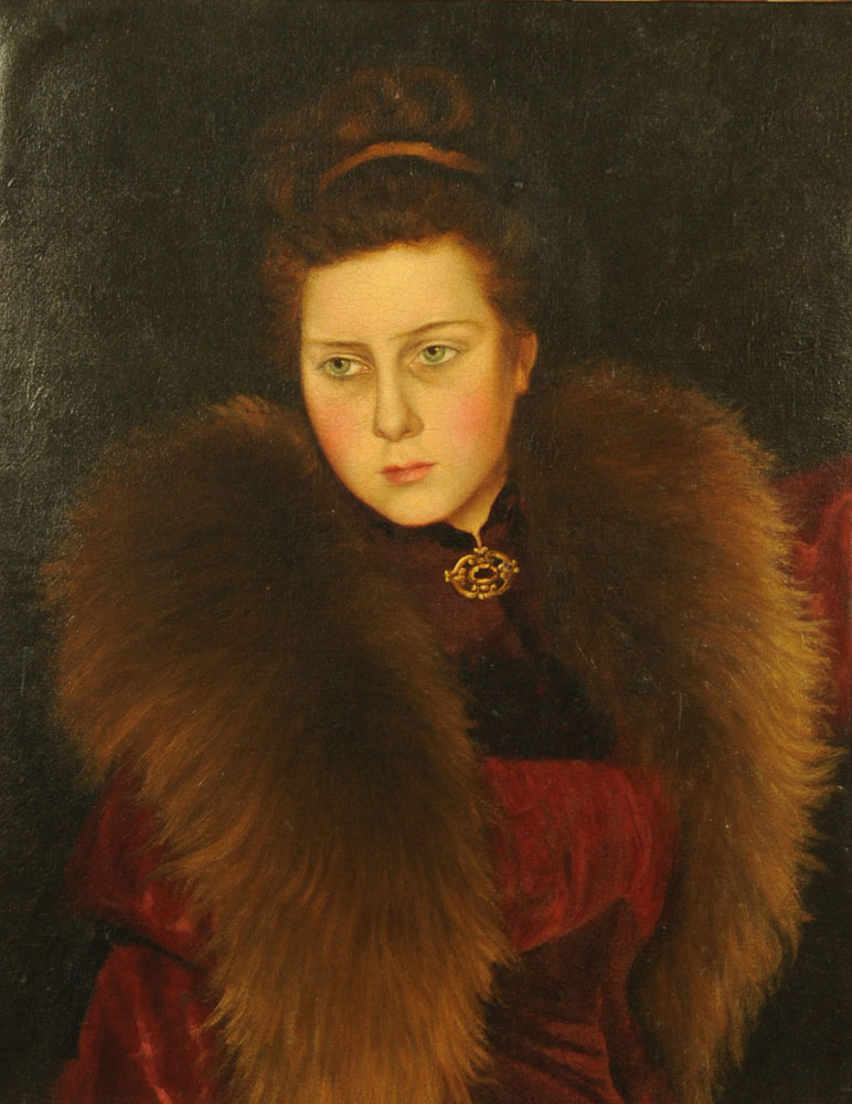 Early 20th century Russian school, possibly by Valentine Serov (1865-1911), oil painting,
