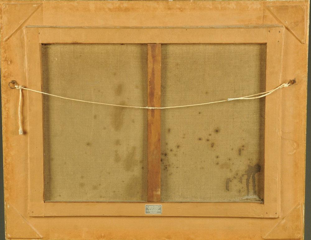 After J Chavez, an oleograph of a bullfight, 47 cm x 62 cm, framed. - Image 5 of 6