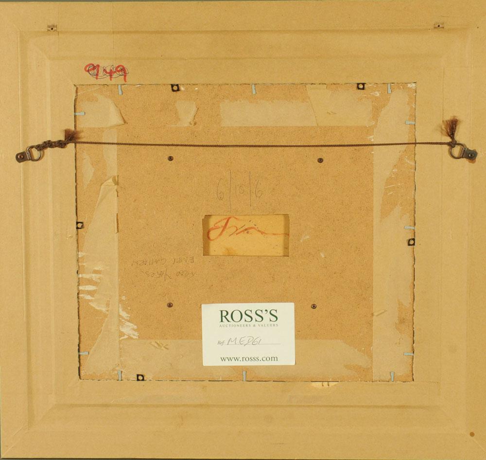 Frederick Joseph Yates (1922-2008), oil on board, sunset, 12.5 cm x 16. - Image 3 of 4