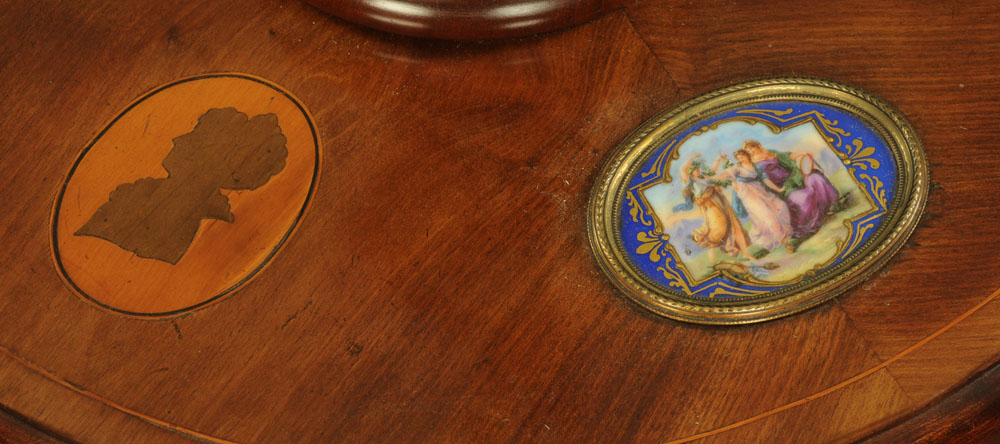 An early 20th century mahogany lamp standard, - Image 7 of 13
