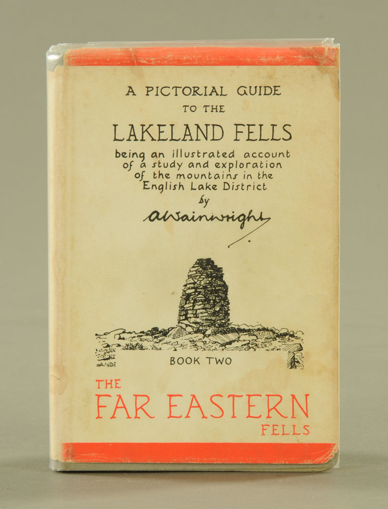 """Alfred Wainwright (1907-1991), """"A Pictorial Guide to the Lakeland Fells"""" first edition Book II."""