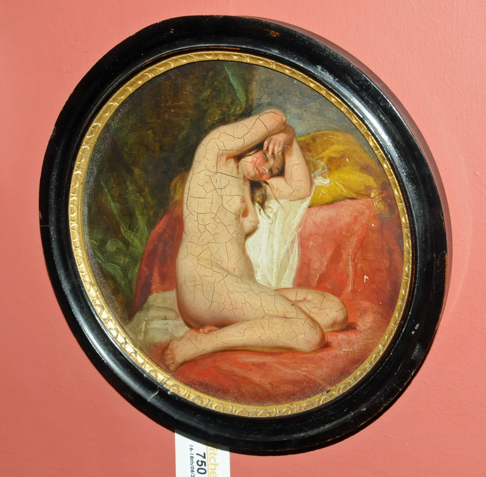 Attributed to Willis Maddox (1813-1853), oil painting, - Image 3 of 8