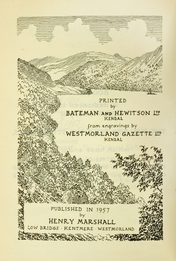 """Alfred Wainwright (1907-1991), """"A Pictorial Guide to the Lakeland Fells"""" first edition Book II. - Image 3 of 3"""