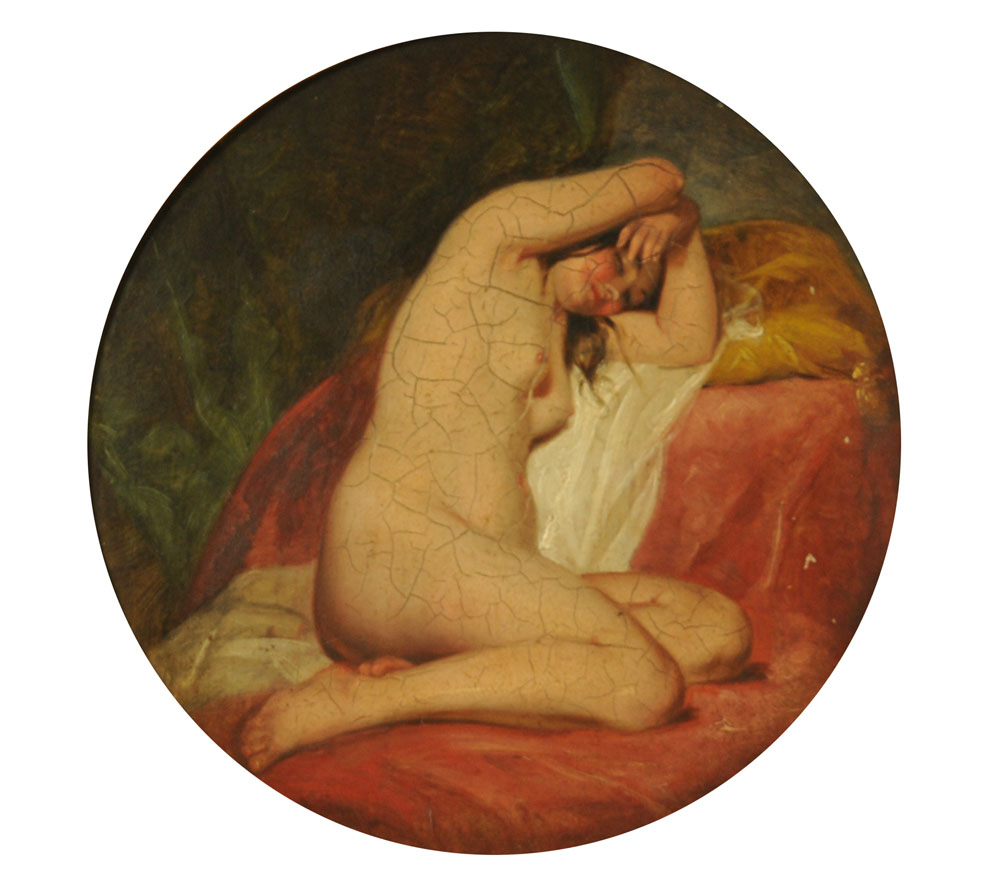 Attributed to Willis Maddox (1813-1853), oil painting,