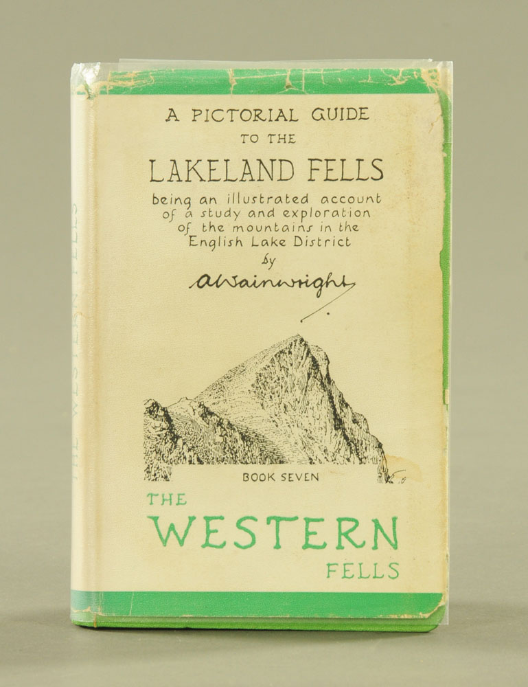 """Alfred Wainwright (1907-1991), """"A Pictorial Guide to the Lakeland Fells"""" first edition Book VII."""