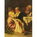 "A 19th century oil painting on canvas ""Falstaff"". 75 cm x 56 cm, framed."