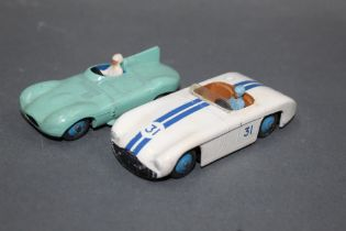 Two 1950's Dinky racing cars, to comprise a Cunningham C-5R racing car (133),