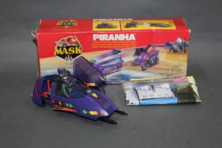 """A 1980's Kenner Mask """"Piranha"""", comprising a motorcycle/submarine with action figure,"""