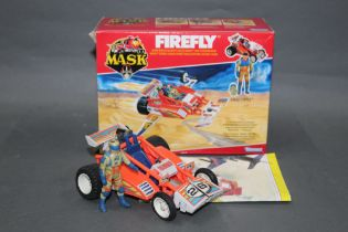 """A 1980's Kenner Mask """"Firefly"""", comprising a dune buggy and Julio Lopez action figure,"""