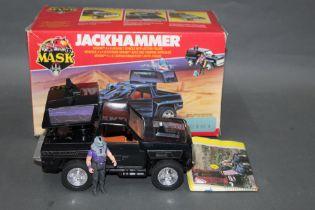 """A 1980's Kenner Parker Mask, """"Jackhammer"""","""
