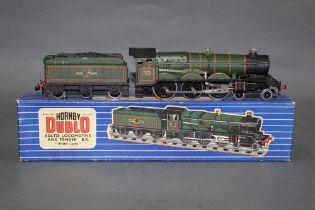 "A Hornby Dublo EDL T20 4-6-0 Castle Class locomotive, ""Bristol Castle"", together with tender,"