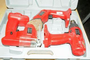 Cased 3 in 1 tool kit