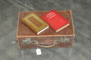Small vintage suitcase,