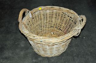 Large two handled basket