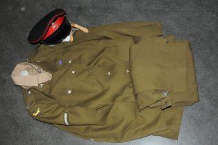 Kings Own Border Regiment jacket, trousers, shirt,