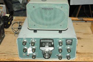 A Heathkit SB600 and a Heathkit SB101 short wave radio