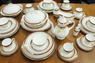 Royal Grafton dinner and tea service,