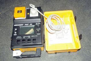 A Megger Pat 32 pat testing machine
