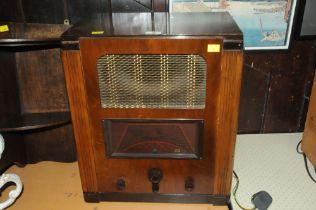 Vintage Marconi radio