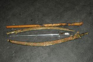 Ornamental bayonet,