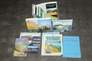 Box of Lake District books, The Tarns of Lakeland by Heaton Cooper,