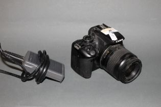 A Canon EOS 350 digital SLR camera with Canon 35-80 mm lens,