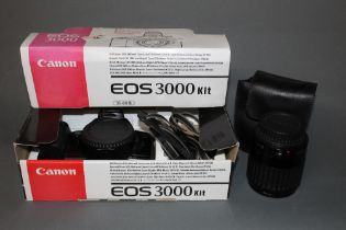 A Canon EOS300 35mm SLR camera with Canon 80-200mm lens