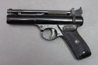* Webley cal 22 air pistol,