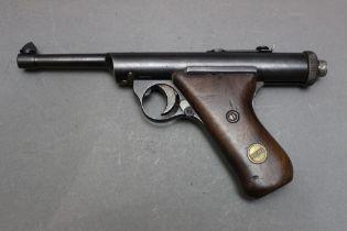 * A Haenel Model 28R cal 177 air pistol, circa 1930-1939,