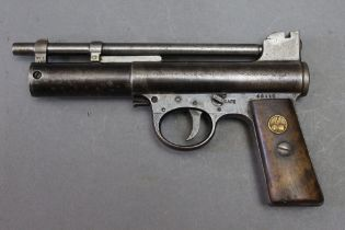 * Webley & Scott a Mark 1 cal 22 air pistol,
