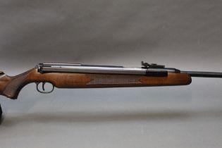 "Diana model 48/52 cal .22 side lever air rifle, overall length 43 1/2"". Serial No. 985247."