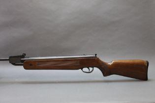 Edgar Brothers model 60S, cal 22 break barrel air rifle. Serial No. 090716848.