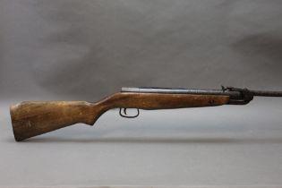 """A Webley Falcon cal 22 break barrel air rifle, circa 1960-1970, overall length 41"""". Serial No."""