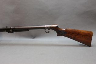 "* A BSA pre war cal 22 under lever air rifle, 19 1/2"" barrel, 45"" overall. Serial No."