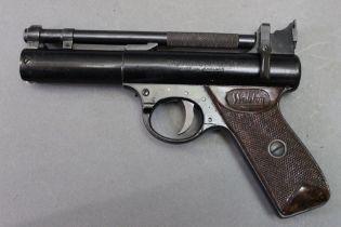 * The Webley Premier cal 177 air pistol,