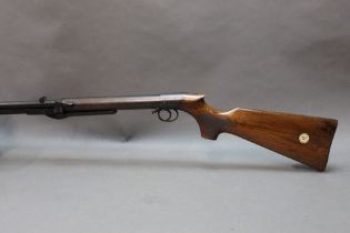 """* BSA improved model D cal 177 under lever air rifle, with a 19 1/2"""" barrel,"""